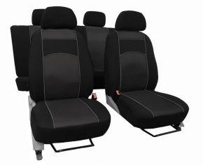 Autostoelhoezen op maat Vip FIAT DUCATO IV 2+1 (2014-2017)