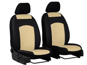 Autostoelhoezen op maat Leer CITROEN C15 1+1 (1984-2003)