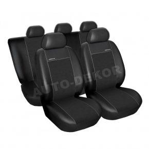 Autostoelhoezen TOYOTA AVENSIS II KOMBI, JAAR 2001-2009, X356 BLACK