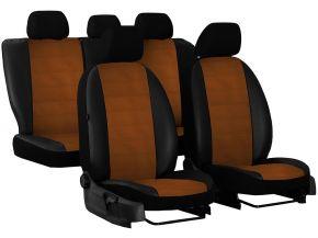 Autostoelhoezen op maat Leer (met patroon) AUDI A3 (8L) (1996-2003)