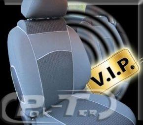 Autostoelhoezen op maat Vip FORD TRANSIT CUSTOM 9m (2013-2019)