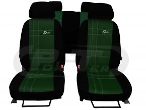 Autostoelhoezen op maat Leer Stype FORD TRANSIT CUSTOM 9m (2013-2019)