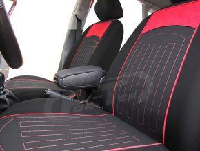 Autostoelhoezen op maat met stikselpatroon HONDA CRV