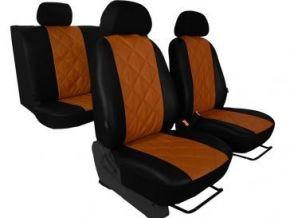 Autostoelhoezen op maat Leer (met patroon) OPEL VIVARO II 9m (2014-2019)