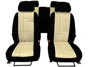 Autostoelhoezen op maat Leer Stype FIAT QUBO