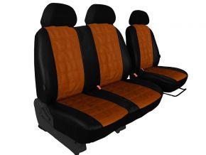 Autostoelhoezen op maat Leer (met patroon) CITROEN BERLINGO 2+1 (1996-2015)