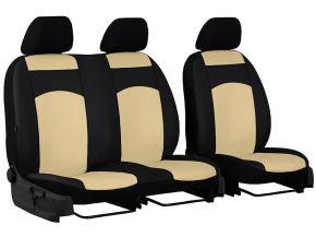 Autostoelhoezen op maat Leer CITROEN BERLINGO 2+1 (1996-2015)