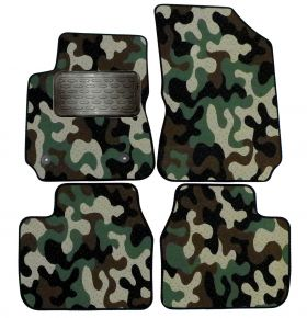 Army car mats Citroen C4 Cactus 2013-up  4ks
