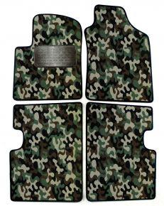 Army car mats Fiat 500 2007-2012 4ks