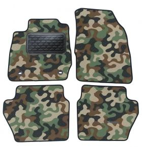 Army car mats Ford Fiesta 2008-2015  4ks