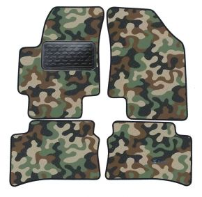 Army car mats Hyundai Accent 2006-up 4ks
