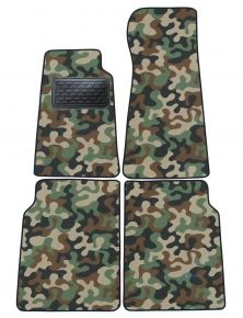 Army car mats Jaguar XJ 6/12 1973-1981 4ks