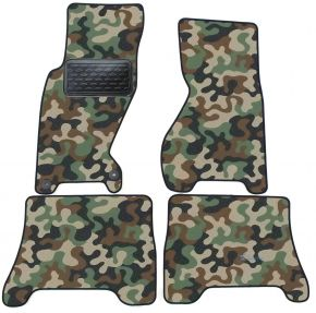 Army car mats Jeep Grand Cherokee 1999-2004 4ks