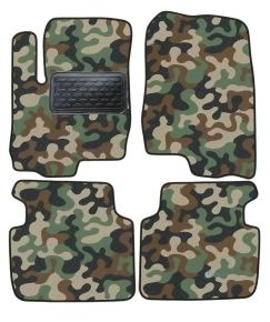 Army car mats Mitsubishi Colt 2003-up 4ks