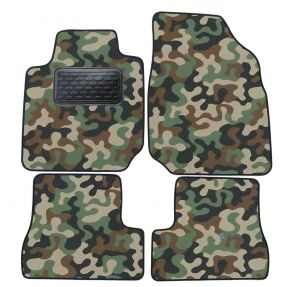 Army car mats Nissan Micra K12 2003-2009 4ks