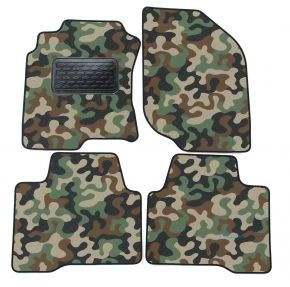 Army car mats Nissan X-Trail  T30 2001-2007 4ks