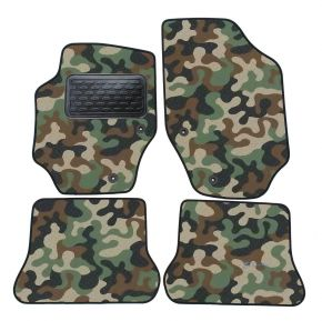 Army car mats Peugeot 307 cc  2001-up