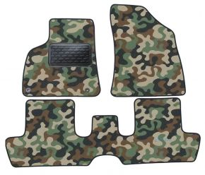 Army car mats Peugeot 3008  2009-2016  4ks