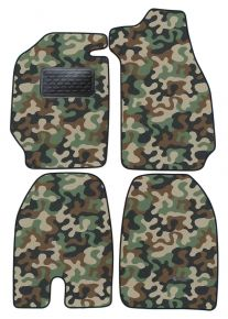 Army car mats Porsche 911SC Coupe1978-1987 4ks