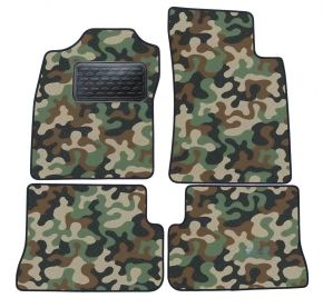 Army car mats Renault Megane Coupe 1996-2002 4ks