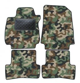 Army car mats Renault Clio IV 2012-up