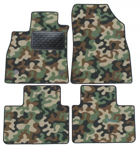 Army car mats Renault Talis2016 4ks