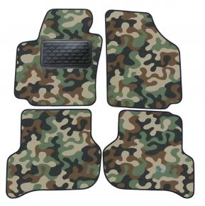Army car mats Seat Altea 2004-up 4ks