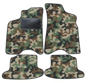 Army car mats Seat Arosa 1997-2005 4ks