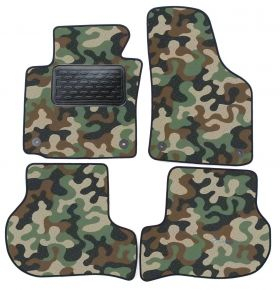 Army car mats Seat Leon 2006-2012 4ks