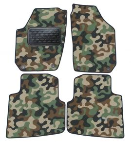 Army car mats Skoda Roomster 2006-2015 4ks