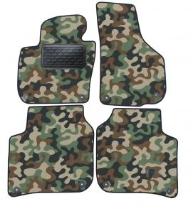 Army car mats Skoda Super B 2008-2015 4ks
