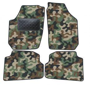 Army car mats Skoda Fabia II 2007-2014