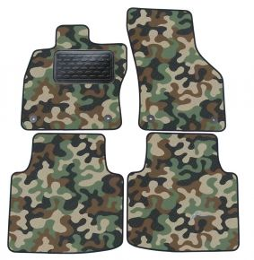 Army car mats Skoda Superb III 2015-up/ Passat B8  4ks