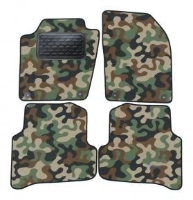 Army car mats Skoda Fabia III 2014 -up  4ks