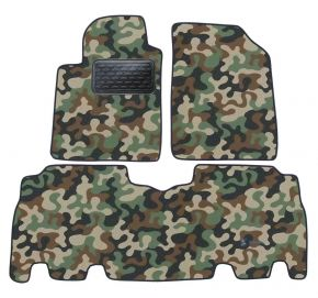 Army car mats Toyota Yaris Verso 1999 -2006 4ks