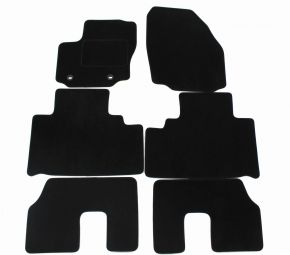Velours automatten, Ford S-Max 5p., 2007-2010