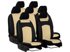 Autostoelhoezen op maat Leer AUDI Q7 II 7m. (2015-2020)