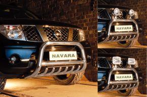 Bullbar Steeler Nissan Navara 2005-2010 Type G