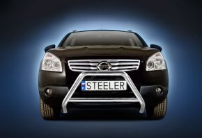 Bullbar Steeler Nissan Qashqai 2007-2010 Type A