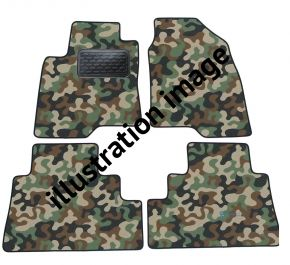 Army car mats Audi A6 C6  2004-2007