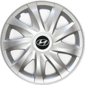 """Puklice pre Hyundai 15"""", Draco, 4 ks"""