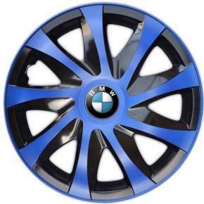 "Wieldoppen BMW 14"", DRACO blauw 4 stuks"
