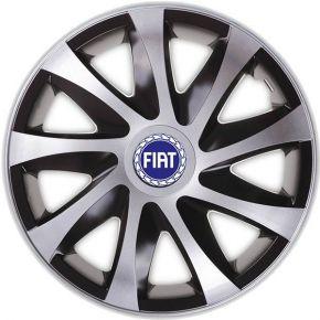 """Wieldoppen voor FIAT BLUE 16"""", DRACO CS 4 stuks"""