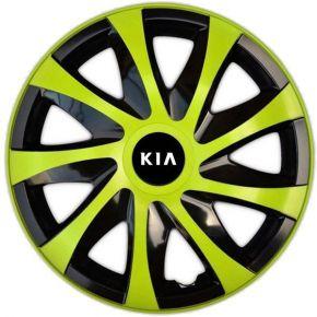 """Wieldoppen KIA 16"""", DRACO groen 4 stuks"""