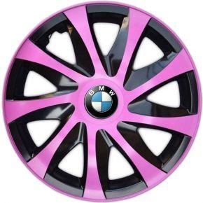 "Wieldoppen BMW 14"", DRACO pink 4 stuks"