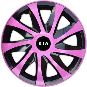 "Wieldoppen KIA 16"", DRACO pink 4 stuks"