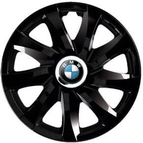"Wieldoppen BMW 14"", DRIFT zwart gelakt 4 stuks"
