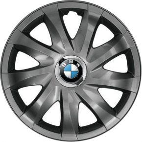 "Wieldoppen BMW 14"", DRIFT grafiet gelakt 4 stuks"