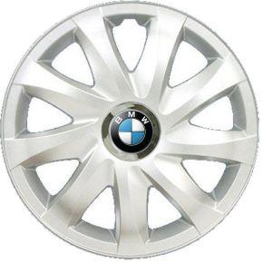 "Wieldoppen BMW 14"", DRIFT grijs gelakt 4 stuks"