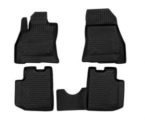 Gumené rohože pre FIAT 500L 2013-up 4 ks